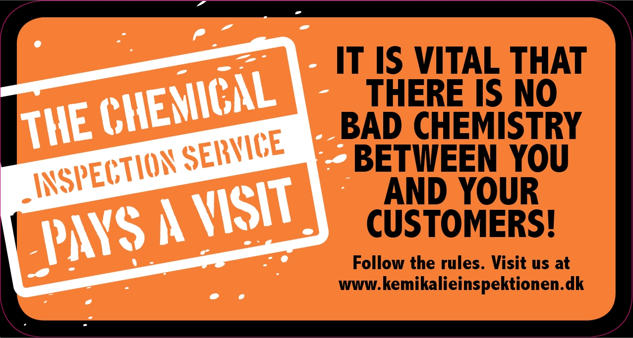 The Chemical Inspection Service pays a visit